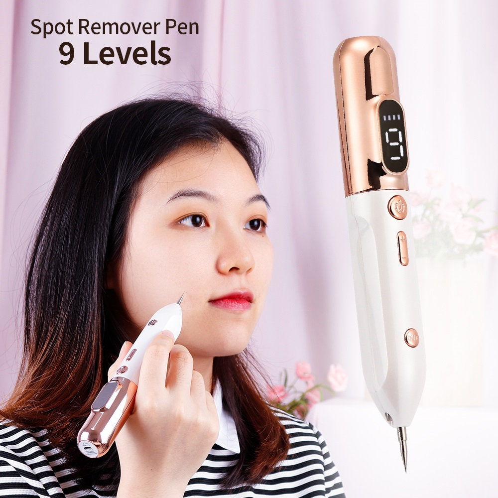 9 Level LCD Plasma Pen LED Lighting Laser Tattoo Mole Removal Machine Face Care Skin Tag Removal Freckle Wart Dark Spot Remover|Home Use Beauty Devices| - AliExpress