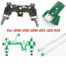 สำหรับ PS4 JDM 050 JDM 055 JDS 055 JDS 050 Controller Repair Key ผู้ถือกรอบด้านในชาร์จ Flex Ribbon สาย ConductiveFilm