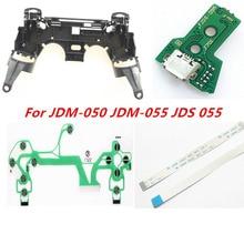 עבור PS4 JDM 050 JDM 055 JDS 055 JDS 050 בקר תיקון מפתח מחזיק פנימי מסגרת טעינת לוח להגמיש כבל סרט ConductiveFilm