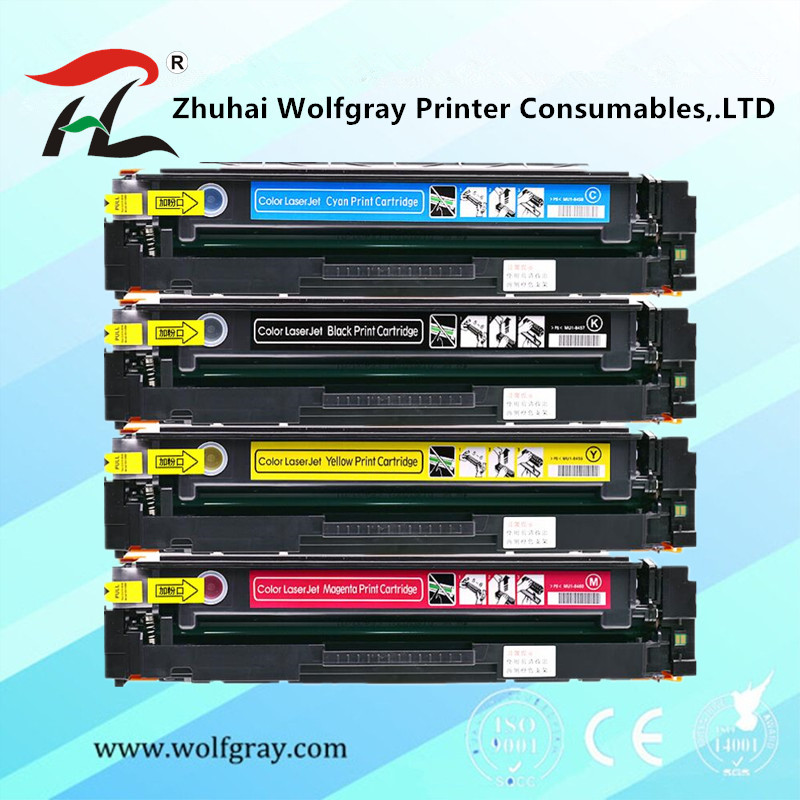 With chip Compatible for hp 203A CF540A 540a cf540 toner cartridge for HP LaserJe Pro M254nw M254dw MFP M281fdw M281fdn M280nw
