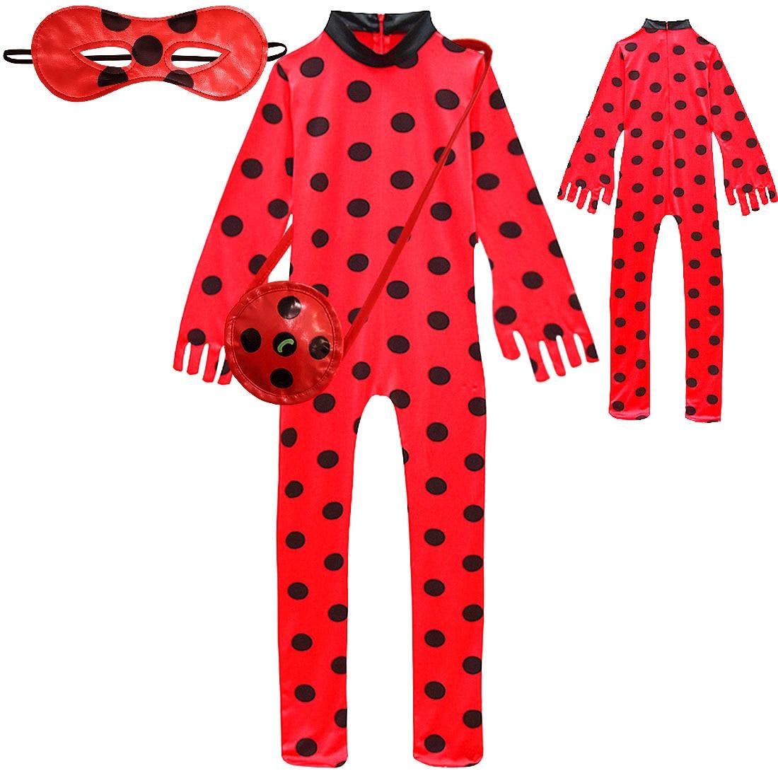 2019 ragazze carnevale abbigliamento natalizio Lady Kids Bug Halloween Cosplay costume per ragazza vestito abiti da festa stampa Anime