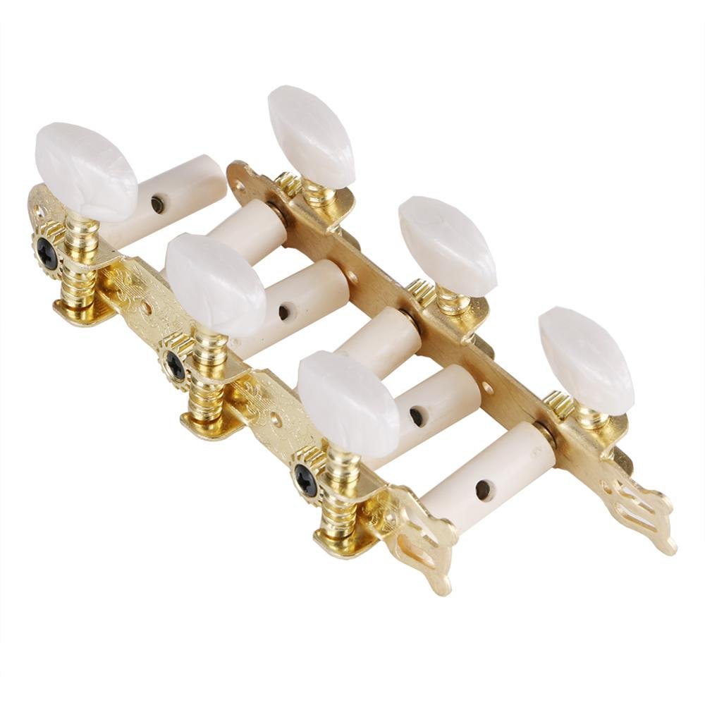 2020 New 3L /3R Classical Guitar Tuner Acoustic For Classical Guitar Tuning Keys Steel Pegs Machine Heads Set