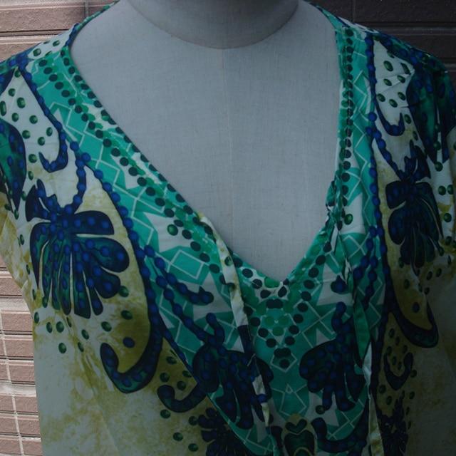 Cotton Long Beach Dress Robe de Plage Swimwear Women Cover ups Tunic Pareo Beach Cover up Kaftan Beach Saida de Praia Beachwear 6