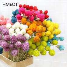 15pcs Colorful Natural Dried Flower Bouquet Strawberries Grass DIY Handmade Handicraft Artificial Flower Home Decor Photp props