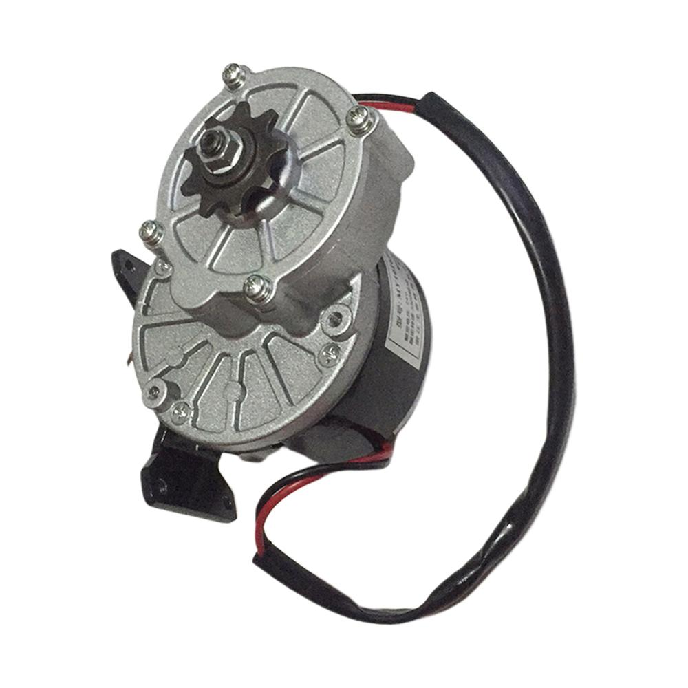 24V 250W DC Motor Regulator Motor Controller Bicycle Modified Parts Metal Gear 1016 Reduction Brushed Motor E-bike Parts