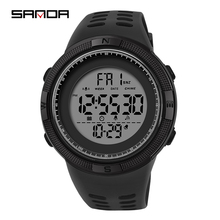 electronic Man Watch 2019 New Sport Military Multifunction Wrist Watch