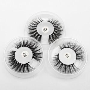 Image 1 - A lots of mink false eyelashes makeup 3d mink lashes natural long fake lashes