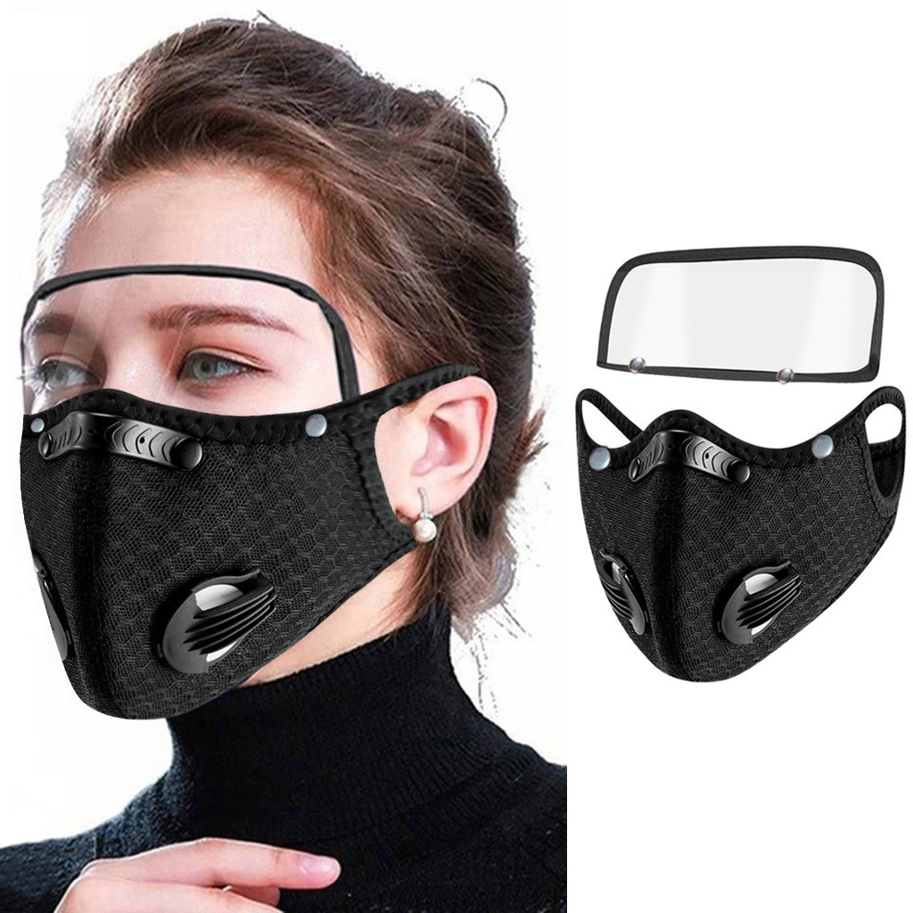 máscara de proteção com olhos escudo máscara