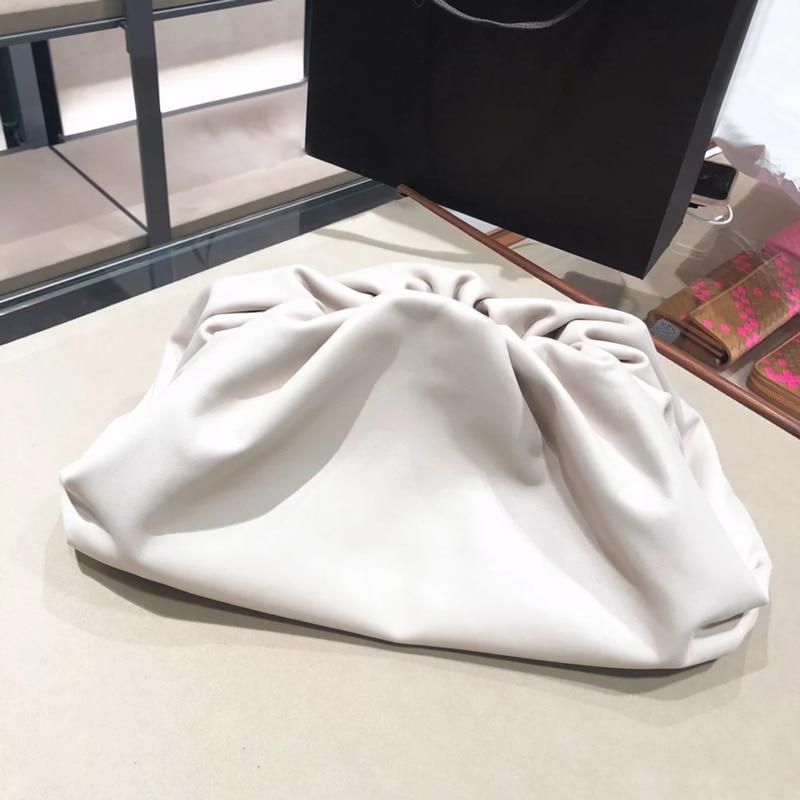 Ins Women Bag Simple Shoulder Messenger Bag Wild Fashion Cloud Dumpling Package High Quality Female Casual Crossbody Bags Clutch