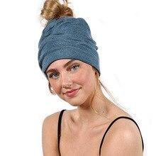 Вязаные зимние шапочки унисекс для женщин и мужчин, спортивные повседневные шапочки для йоги, одноцветные шапочки в стиле хип-хоп, snach Slouch Skullies Bonnet Beanie Hat Gorro