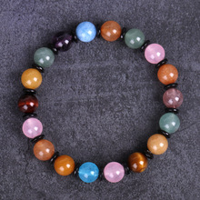Natural Stone Beads Bracelet For Women Men 8mm Beads Lava Quartz Chakra Bracelets Bangle Woman Jewelry Gifts red watermelon tourmaline stone beads bracelet for women men natural stone bracelet crystal quartz bracelets elastic
