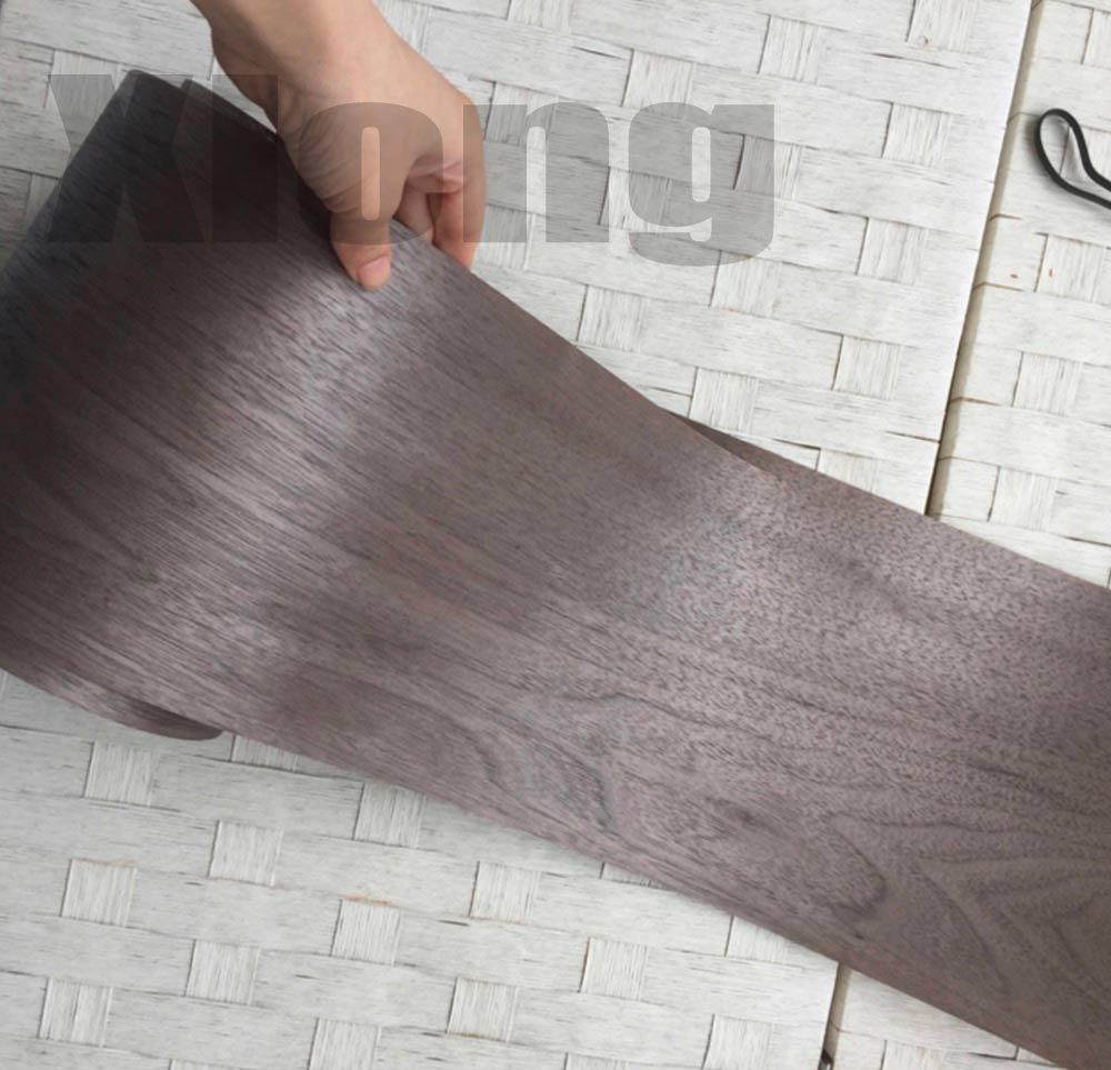 1Piece Lengh:2.5Meters Width:15cm Thickness:0.25mm Walnut Wood Veneer Furniture Edge Strip