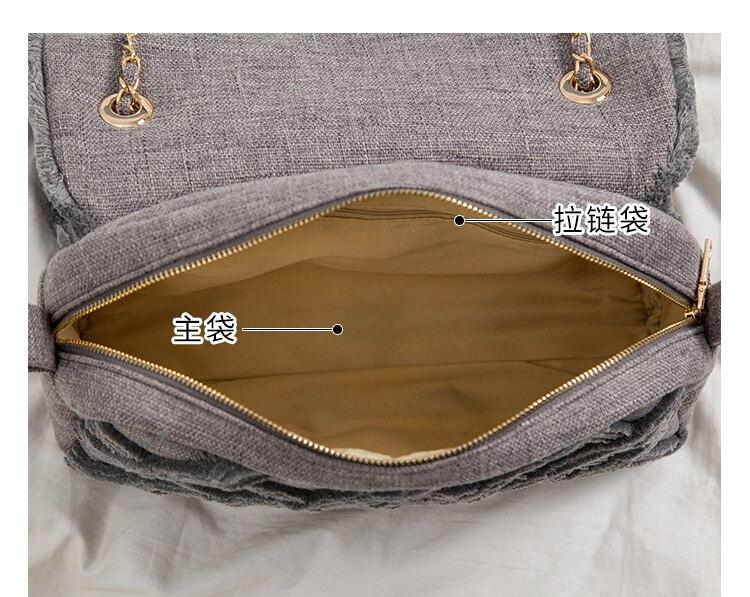 2020 novo artesanato bolsas bolsa de lona