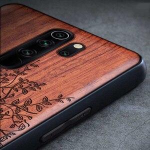 Деревянный ящик для Xiao mi Red mi Note 8 7 Pro K20 100% натуральный деревянный TPU чехол для телефона для Xiaomi mi 8 9 SE Lite mi x 2 2S 3 чехол для телефона s