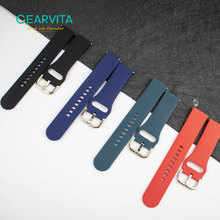 Bracelet de montre intelligent en acier et Silicone, 20mm, pour Samsung Galaxy Active 2, pour hommes et femmes