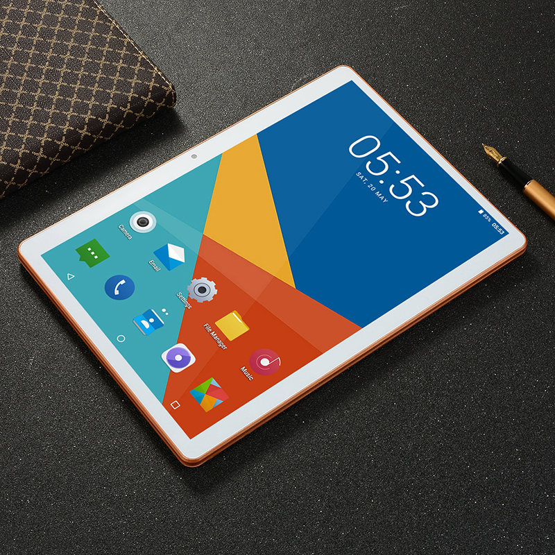 2019 New10 Inch Tablet PC 3G/4G Phone Call WiFi Dual SIM Cards 1280×800IPS 3GB RAM 16GB ROM Memory Card Gift 5000mAh Tablets PC