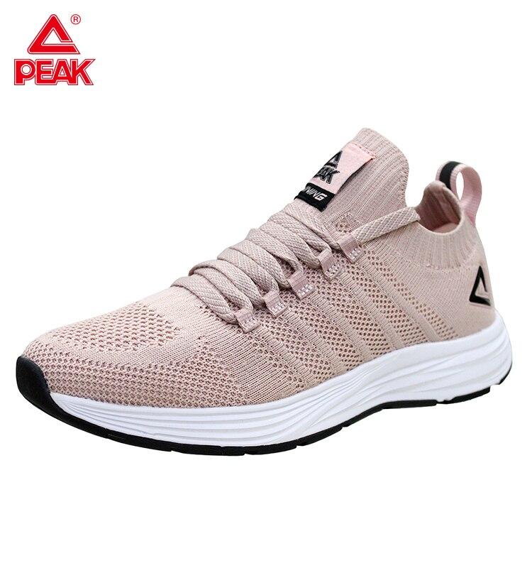 PEAK Running Shoes For Men Breathable Upper Female Sneakers Women Fitness Jogger Lightweight Training Gym Yoga Unisex Footwear