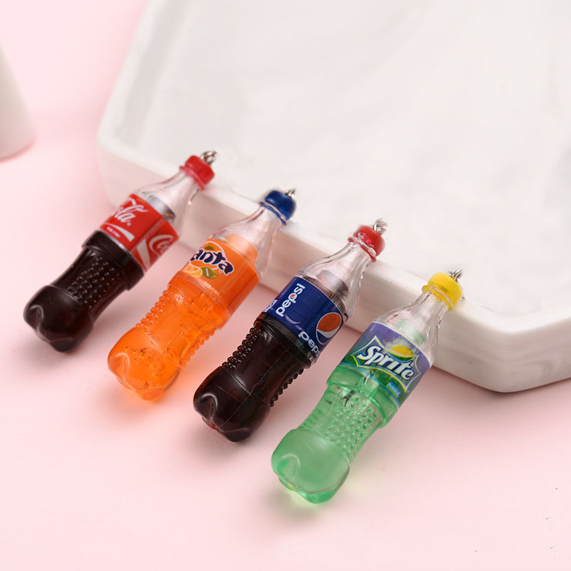 Cola Sprite Drink Bottle Polymer Slime Charms Lizun Modeling Clay DIY Accesorios Box Toy For Children Slime Supplies Filler