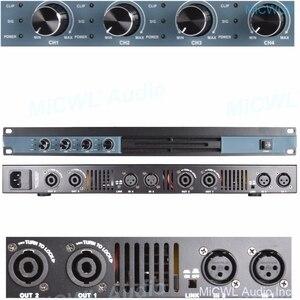 Image 3 - MiCWL – amplificateur de puissance numérique à 4 canaux, 5200W, karaoké, Studio, Microphone Audio, haut parleur de nouvelle génération, ampli 2600W, 2 canaux