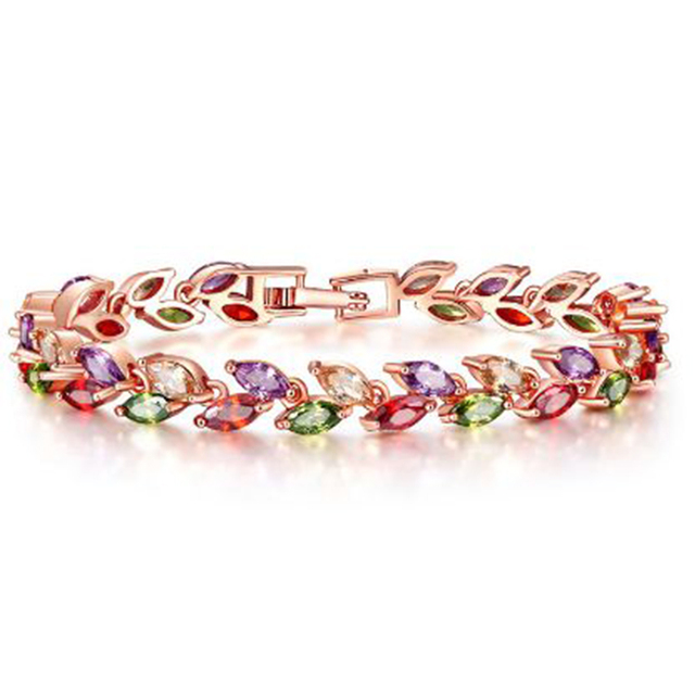 Bettyue New Arrival Bracelet For Female Fascinating Bangle With Zirconia Muliticolors Choice In Wedding Party Charming Jewelry