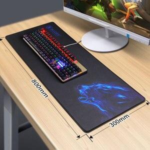 Image 2 - Sades Large Gaming Mouse Pad Lockedge Mouse Mat Keyboard Pad Desk Mat Table Mat Gamer Mousepad for Laptop Notebook LOL