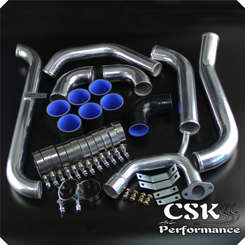 FMIC Upgrade Intercooler Piping Kit Fits For Toyota Starlet Glanza EP91 EP82 4P-FETE 90-99