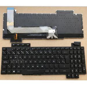 Hiszpański podświetlana klawiatura dla asus rog Strix GL503 GL703 GL503V GL503VD GL503VD-DB71 GL503VD-DB74 GL503VM GL503VS SP łacińskiej LA