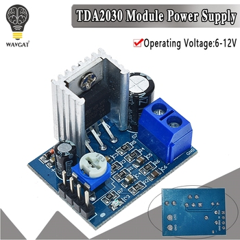 TDA2030 Module Power Supply Audio Amplifier Board TDA2030A 6-12V Single - discount item  30% OFF Active Components