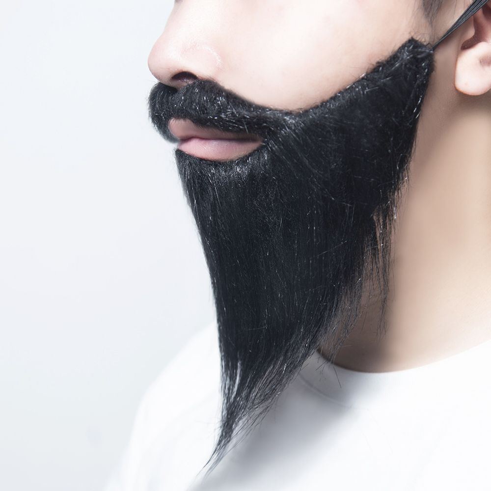 Funny Fake Mustache Photo Booth Props Cosplay Fake Beard Costume Party Beards Whisker For Kids Adult Party Decorations(China)