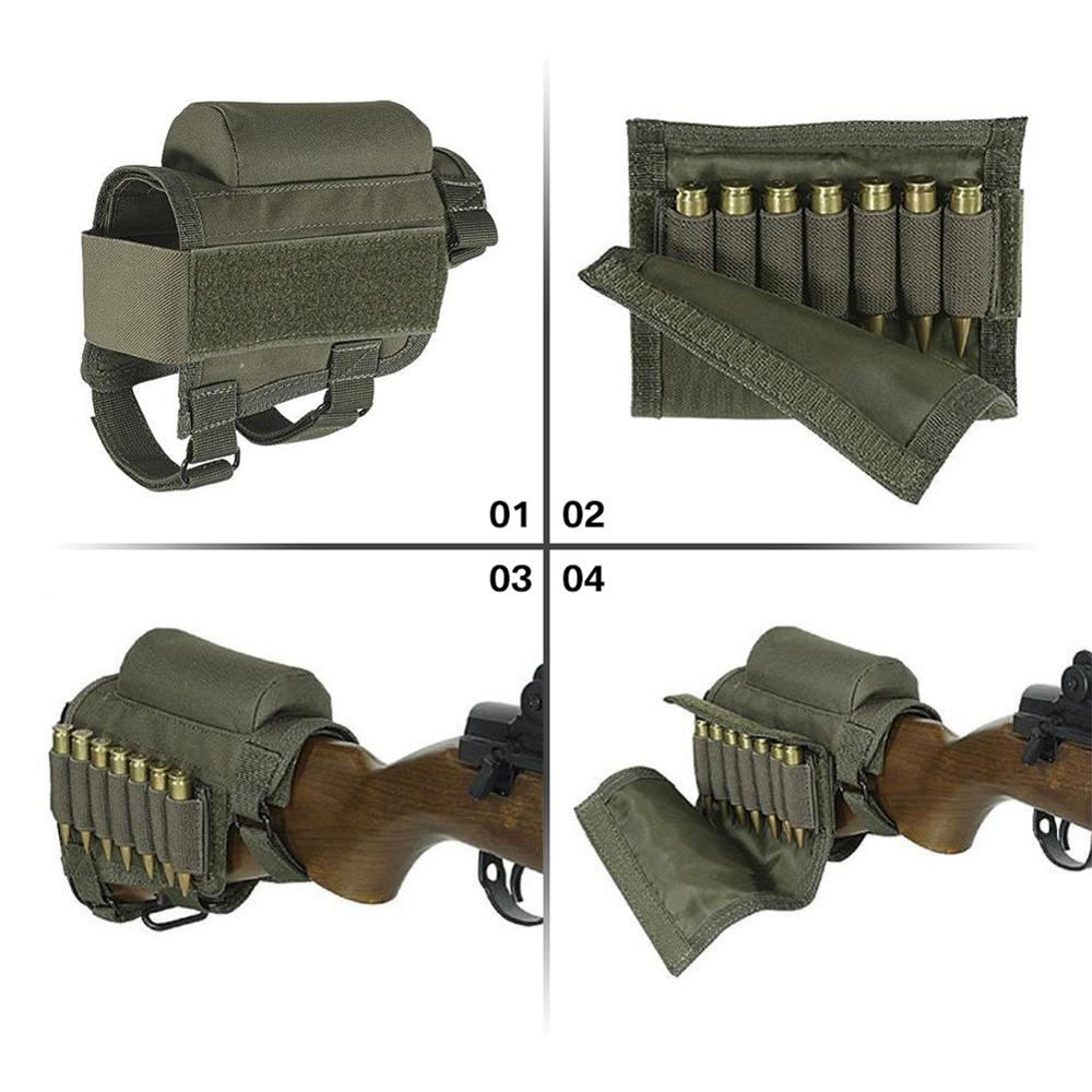 Tactical Removable Adjustable Bullet Stock 3