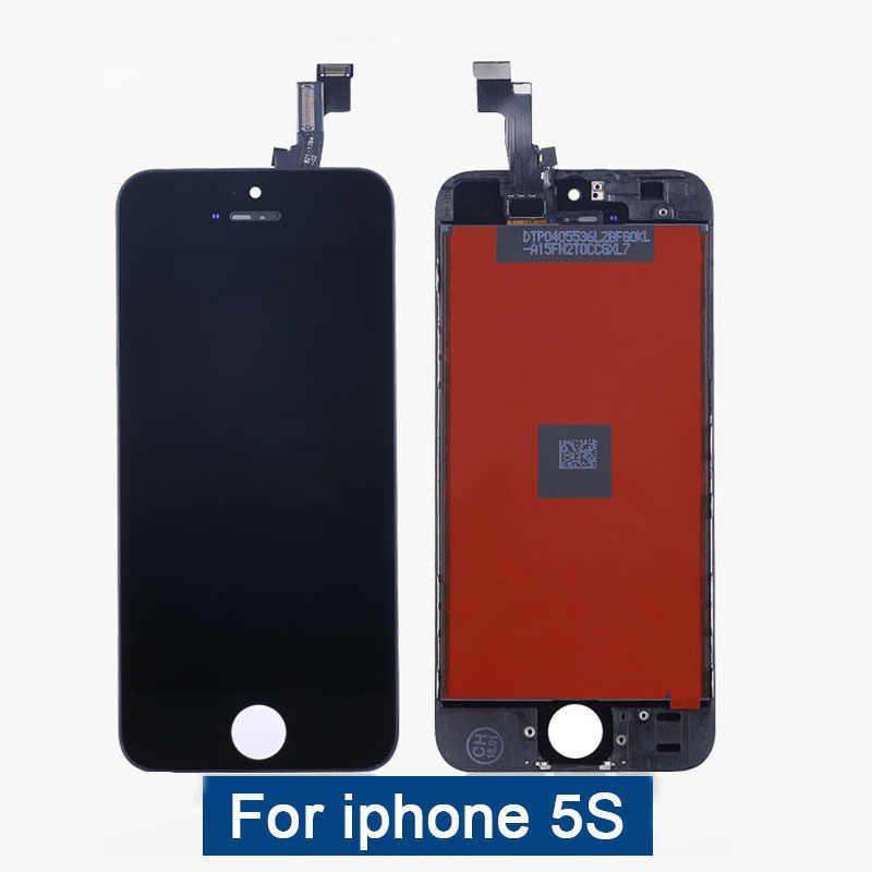 10 sztuk TIANMA dla iPhone 6 6S 7 8 wyświetlacz LCD 4.7 cal AAA ekran digitizer z ekranem dotykowym assemblyFree DHL