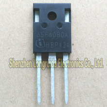 10PCS 65F6080A 65F6080 TO-247 MOSFET TRANSISTOR 43A 600V(China)