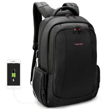 Anti Theft Nylon 27L Men 15.6 inch Laptop Backpacks School Fashion Travel Male Mochilas Feminina Casual Women Schoolbag - DISCOUNT ITEM  40% OFF All Category