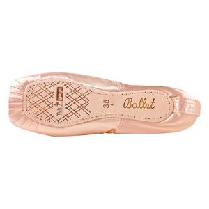 Image 5 - Neue Satin Ballett Tanz Pointe Toe Schuhe Pointe Silk Band Schuhe Toe Pad Mädchen Rosa Professionelle Ballett Schuhe Für Ballett