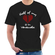 Half of my heart is in Venezuela Women T-Shirt @072083