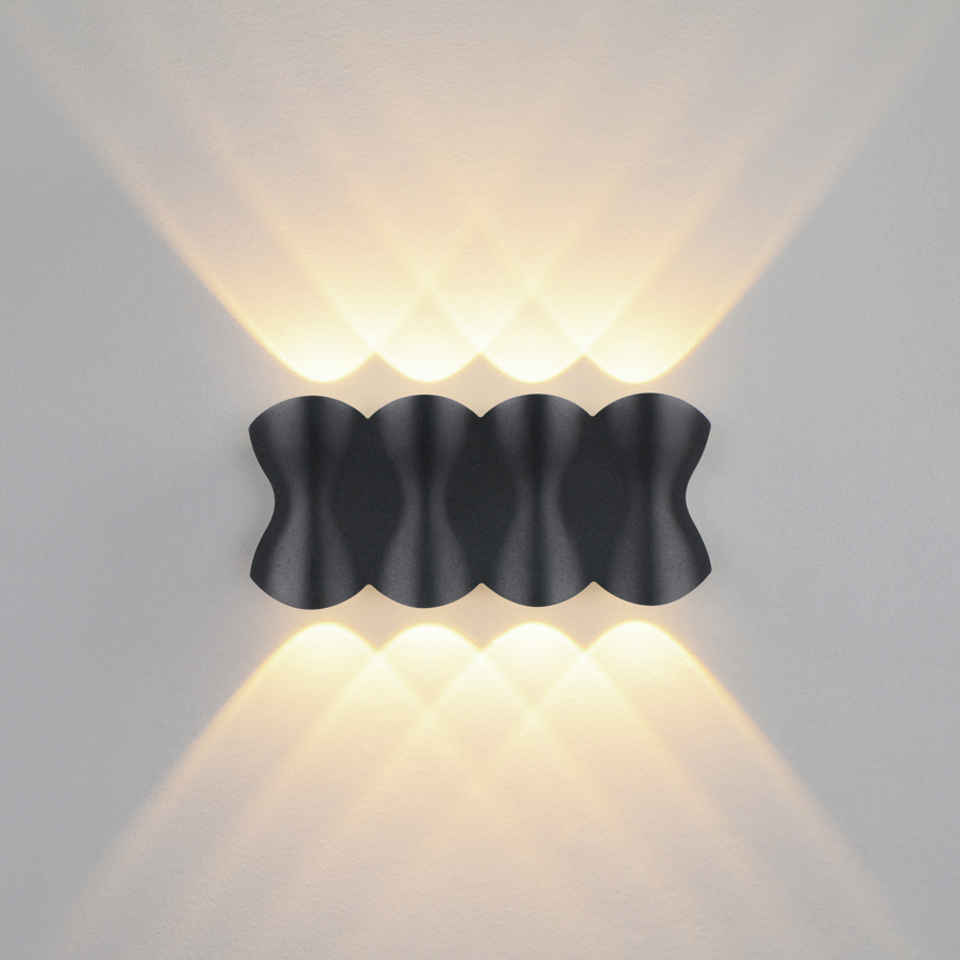 Nordic LED wall lamps Aluminum Waterproof indoor/outdoor wall lights for Home/Porch/Garden /Bathroom light led luminaire 4W/6W/8