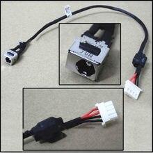 Novo cabo de alimentação dc jack conector de carregamento dc cabo de fio porta para toshiba l600 l600d l700 l640 l740 l745 l630 l670