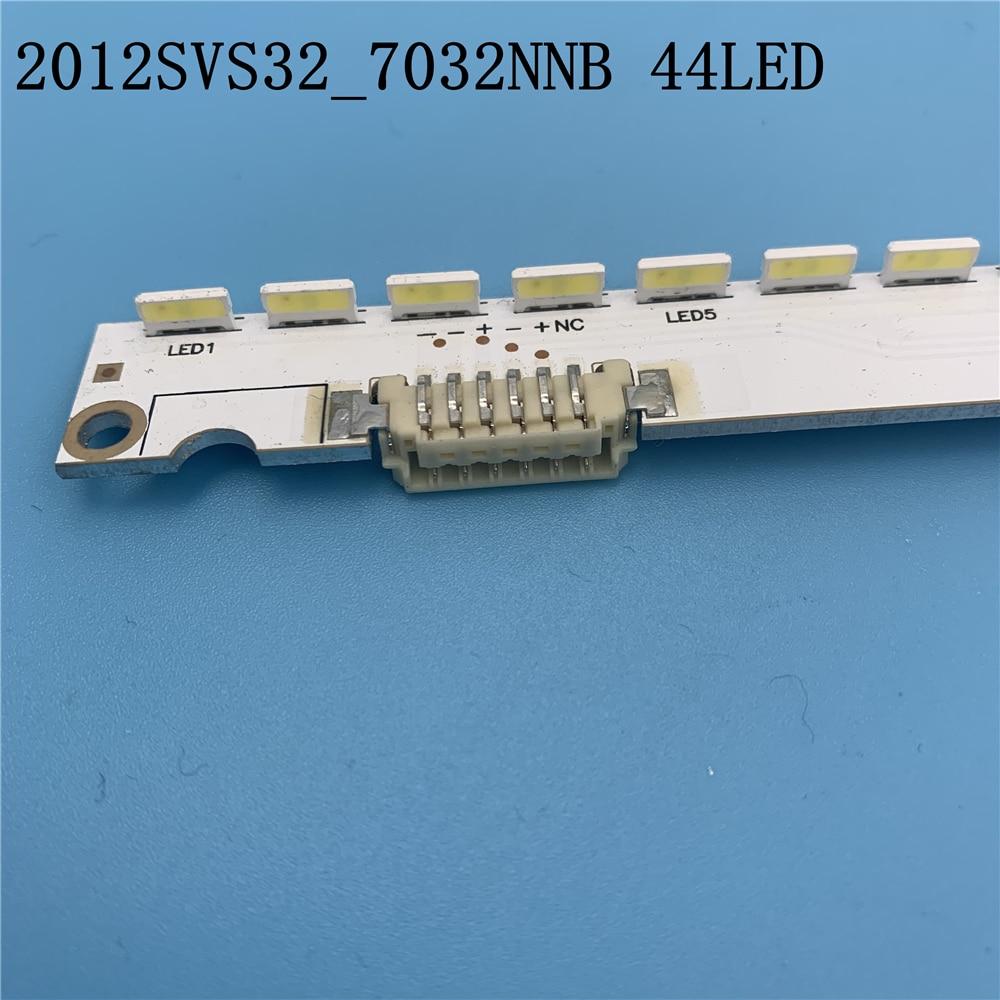 US $15.5 |3В Светодиодная лента подсветки 44 Светодиода Для Samsung 32 ''2012SVS32 7032NNB 44 2D REV1.1 V1GE 320SM0 R1 UE32ES6760S UE32ES5500 UE32ES5507|Подвесные лампочки| |  - AliExpress