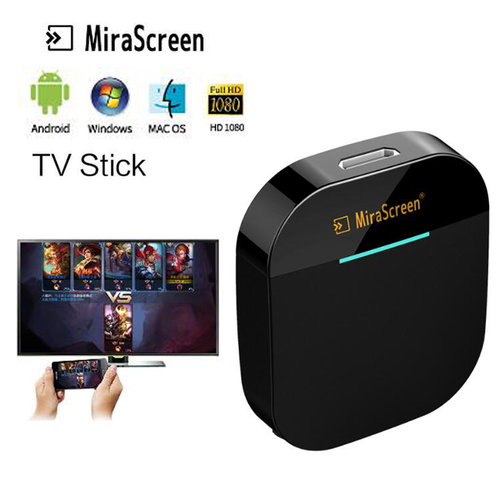 Mirascreen G5 Plus 2.4G 5G 4K Wireless Dongle Miracast Airplay Game TV stick Receiver Wifi TV Dongle HDMI compatible for youtube - ANKUX Tech Co., Ltd