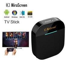 Mirascreen G5 Плюс 2,4G 5G 4K Беспроводной ключ Miracast обмена потоковыми мультимедийными данными (Airplay) игра ТВ палка приемник Wifi TV ключ HDMI совместимых д...