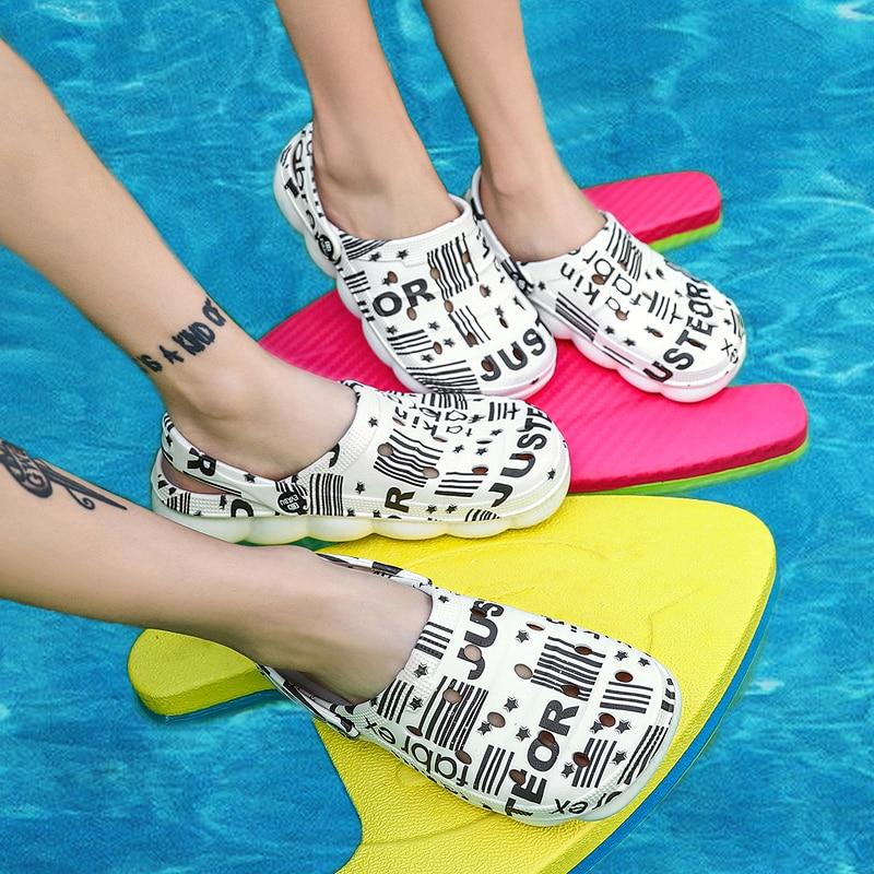 respirável sapatos de praia ao ar livre
