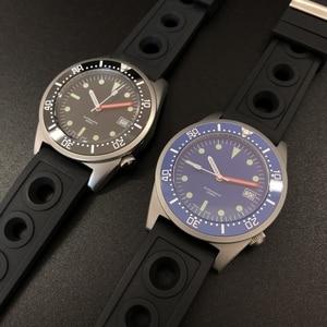 Image 5 - STEELDIVE  Shark Dive Watch 200m Mechanical Watch Men Wrist Automatic C3 Super Luminous 1979 Replica Automatic Watches Men