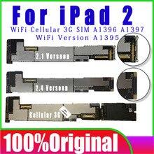Original unlocked No iCloud for ipad 2 Logic board,A1396/A1397/A1395 Mainboard for ipad 2 Motherboard