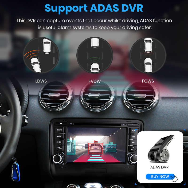 Junsun 4 グラム + 64 グラム 2 喧騒車の DVD Automotivo GPS アウディ TT MK2 8J 2006 2007 2008 2009 2010 2011 2012 車のマルチメディアプレーヤーラジオ