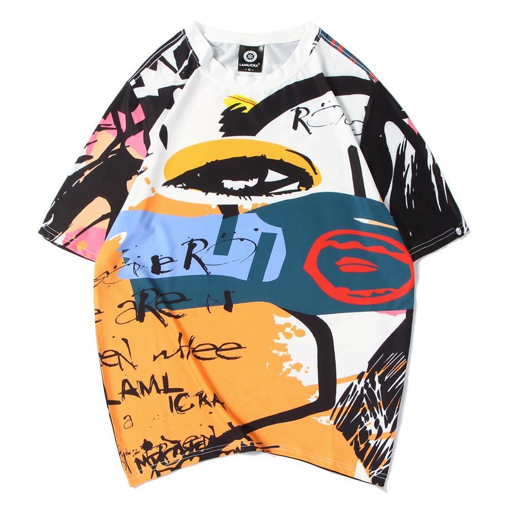 2020 novo homem tshirt 100% algodão manga curta camiseta masculina moda maré impressão tshirt masculino camisetas
