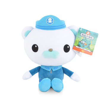 Original 13cm/19cm Octonauts Plush Toys Barnacles Peso Kwazii Tweak Animal Stuffed Party Birthday Gift Kid Christmas Girl Toy 2