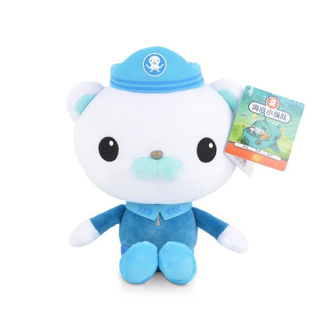 Original 13cm/19cm Octonauts Plush Toys Barnacles Peso Kwazii Tweak Animal Stuffed Party Birthday Gift Kid Christmas Girl Toy 2