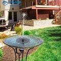 Garden Solar Water Fountain Outdoor Games Child Lawn Decor Water Floating Fountain Solar Powered Waterfall Fountain Patio Decor