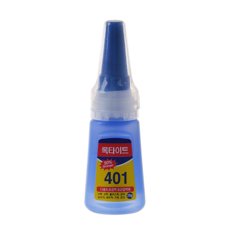 OOTDTY 1PC 401 Glue Special For Bow And Arrow Fast-drying Mucilage Quick Bonding Dehydration Super Instant Shoes Repair Adhesive