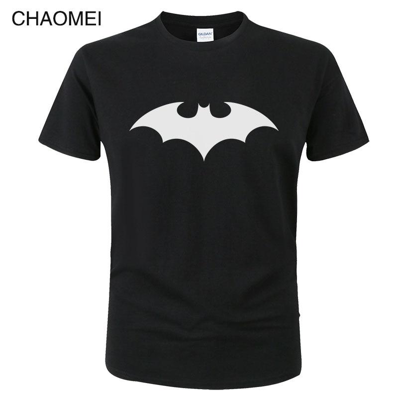 Fashion Cartoon Batman T Shirts Men Summer Cotton O Neck Short Sleeve Men Tshirt Marvel Superhero Tops Brand Tee Cool Shirt C111